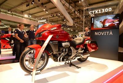 Honda CTX1300: nuova maxi cruiser da turismo