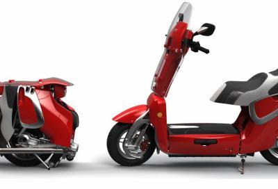 Xor XO2, lo scooter elettrico pieghevole
