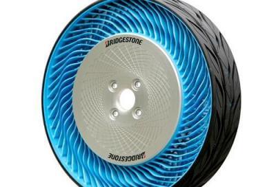 Bridgestone Free Air Concept Tyre 2: la gomma del futuro