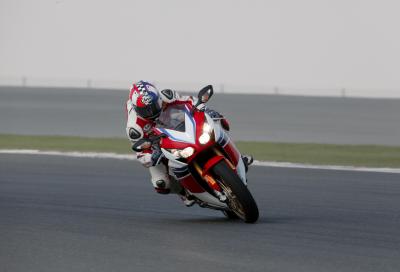 Honda CBR1000RR SP: in pista con Haslam e Rea