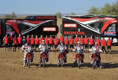 Il Team Honda HRC è pronto per la Dakar 2014