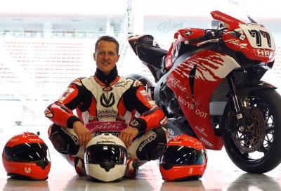 L'incidente di Schumacher e il dibattito sul casco