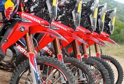 Dakar 2014: i segreti della Honda CRF450 Rally