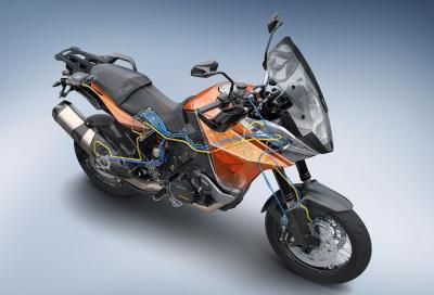 Bosch: premiato il suo controllo stabilità per moto