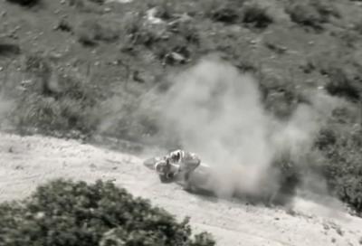 Best of Dakar in video: la caduta di Barreda