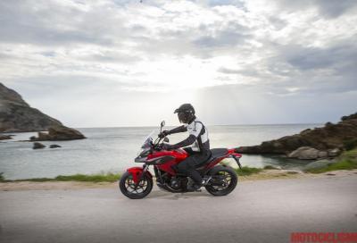 Test Honda NC750X e Integra 750: morbido brio