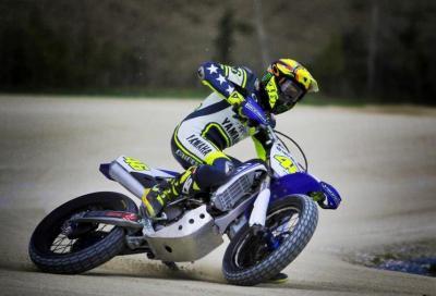 La nuova Yamaha YZ450F di Valentino Rossi
