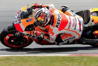 Test MotoGP: Rossi 1° con Pedrosa (tempo identico), bene Dovi