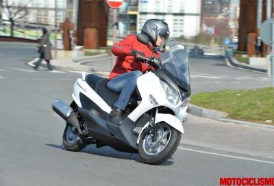 Suzuki Burgman 125 e 200 ABS: il test in anteprima