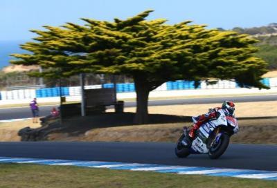 Test MotoGP Phillip Island: Lorenzo lascia il segno