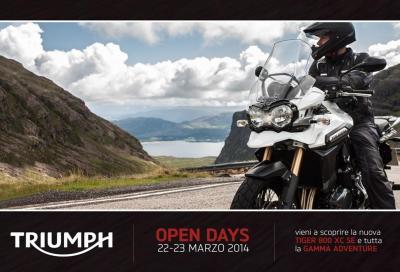 Triumph Open Days: test ride il 22 e 23 marzo