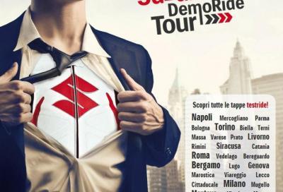 Suzuki Demo Ride Tour: le tappe di questa settimana