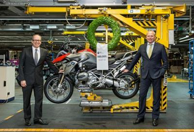La BMW GS con motore boxer raggiunge quota 500 mila