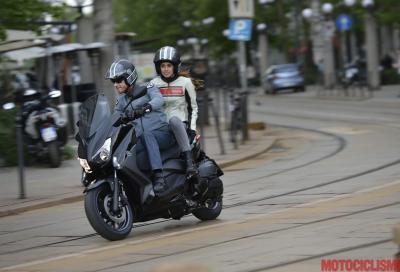 Yamaha X-MAX 400: con Motoplatinum l'RC auto costa meno