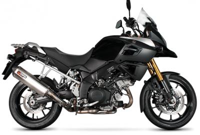 Suzuki V-Strom 1000: un nuovo silenziatore da Scorpion