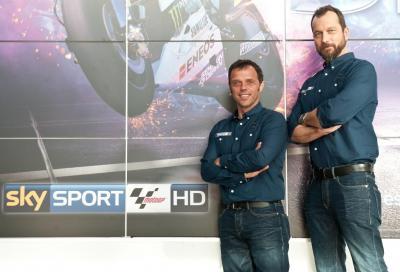 Dalla pista alla TV: chi vince tra Biaggi e Capirossi?