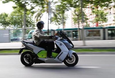 BMW C evolution: con lo scooter elettrico, il futuro è già qui