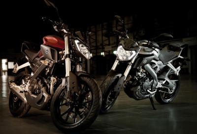 Yamaha MT-125: la famiglia delle funbike si fa in quattro
