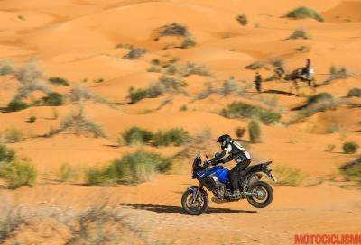 Yamaha Super Ténéré: anche quest'anno a podio, ma solo in offroad