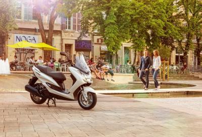 Yamaha Majesty S: un nuovo arrivo nella gamma scooter 2014
