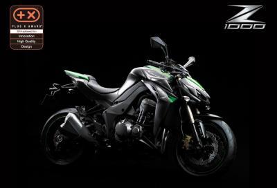 La Kawasaki Z1000 premiata con il Plus X Award 2014