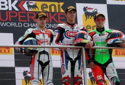 In Supersport VD Mark trionfa a Donington, Cluzel (MV) 2°