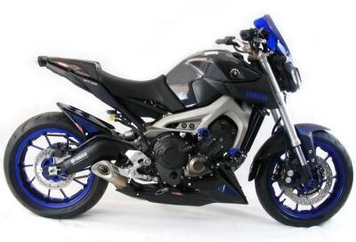 Powerbronze: parti in carbonio per Yamaha MT-09