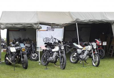 Special Yamaha Yard Built in mostra a Wheels & Waves 2014