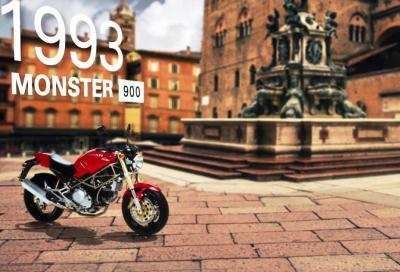 Ducati: Monster story in un video