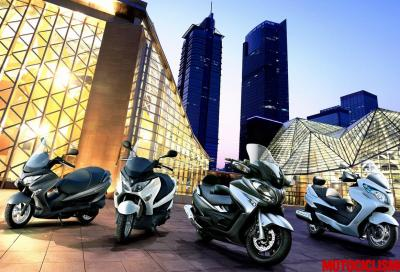 Suzuki Burgman: oltre 200.000 pezzi venduti in 16 anni