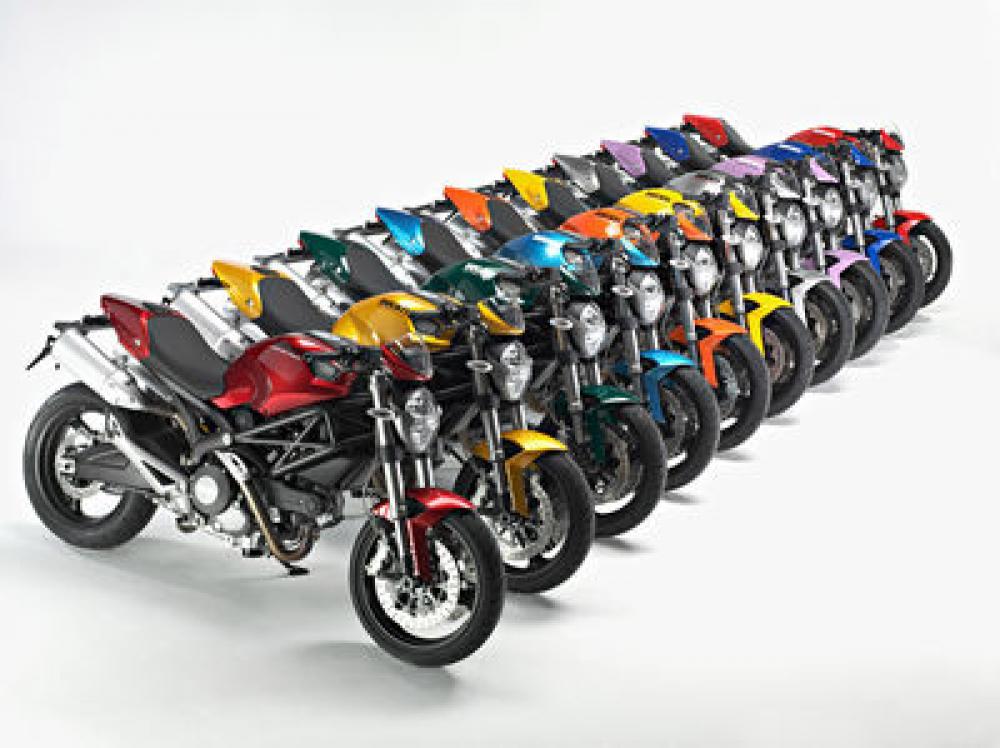Ducati Colour Therapy Dieci Nuovi Colori Per Le Cover Della Monster Motociclismo