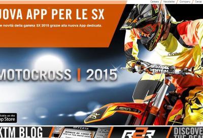 KTM: nuova App per scoprire la gamma cross 2015