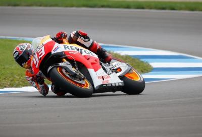 Marc Marquez: pole position imperiosa a Indy, ma grande Dovi!