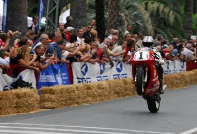 Le moto storiche da corsa in festa per tre giorni a Ospedaletti