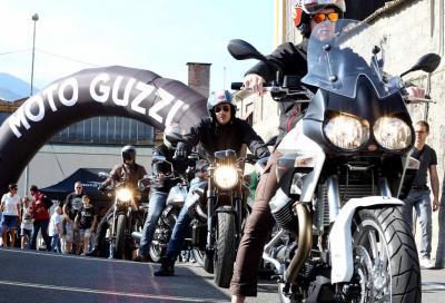 Open House Moto Guzzi: la festa dei 10.000 a Mandello