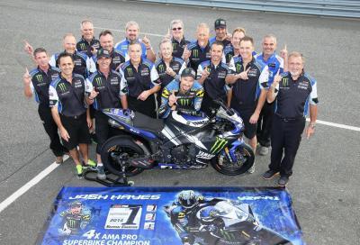 Yamaha R1 e R6 dominano la stagione AMA SBK 2014