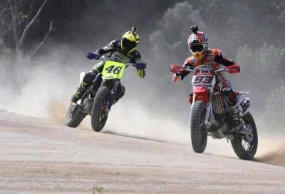 Valentino Rossi e Marquez: al Ranch finisce 1 a 1
