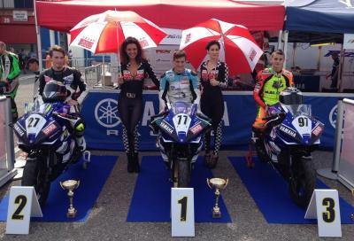 Yamaha R125 Cup: festa italo/spagnola a Franciacorta