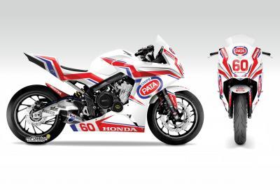 Honda CBR650F è la moto della European Junior Cup 2015
