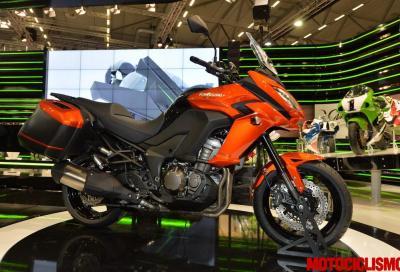 Kawasaki Versys 1000 e 650: nuovo look e molto altro