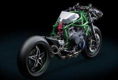 Kawasaki Ninja H2: il telaio è assemblato da robot