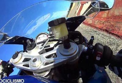 BMW S 1000 RR in pista: il video on-board del nostro test