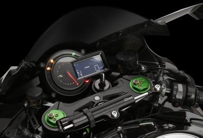 Kawasaki Ninja H2: dotazioni di prim'ordine