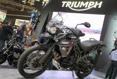 Triumph Tiger 800: 4 nuovi modelli ricchi di elettronica