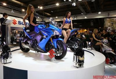 Suzuki: le novità 2015 ad Eicma