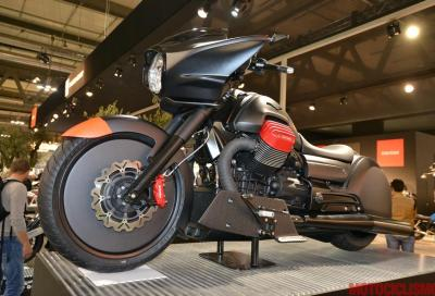 Moto Guzzi MGX-21: special in stile bagger su base California 1400