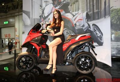 Quadro4: il nuovo scooter a 4 ruote in versione definitiva