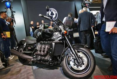 Triumph: le novità 2015 per Bonneville, Rocket e Thunderbird