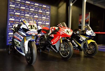 Yamaha dona 3 moto da corsa alla Scuola Tecnica del Motorsport