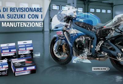 Con Suzuki la manutenzione costa meno